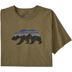 Patagonia Fitz Roy Bear Organic T-shirt Herr sage khaki